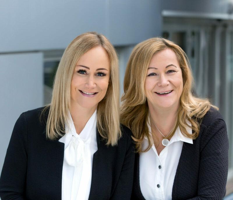 Jennifer Dollinger und Susanne Bauer